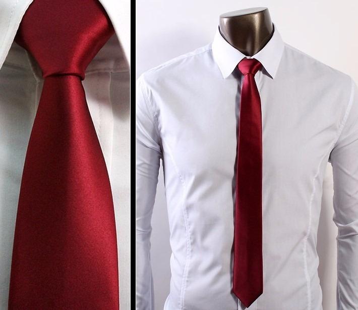 nudo de corbata fina paso a paso