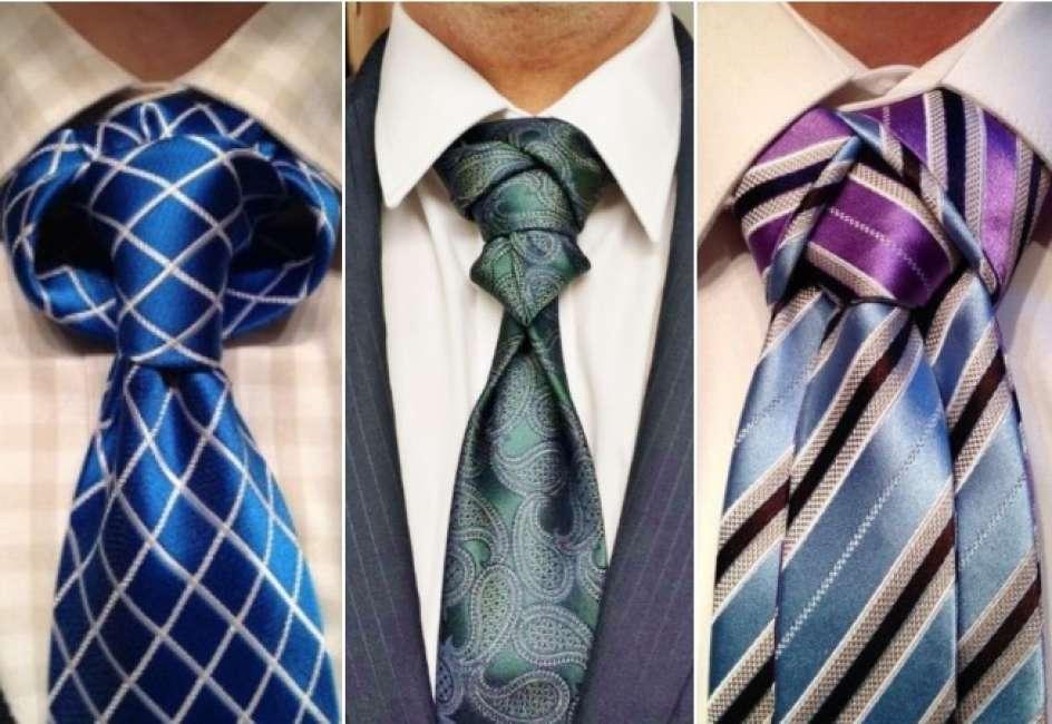 nudo de corbata moderno creativo
