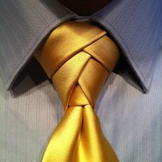 nudo de corbata moderno eldredge