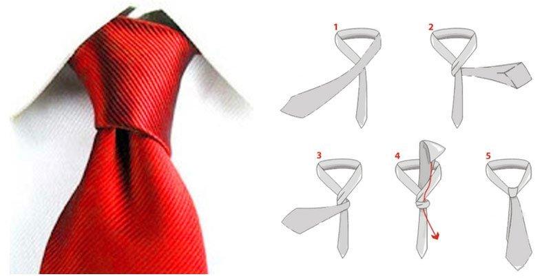 nudo de corbata simple paso a paso