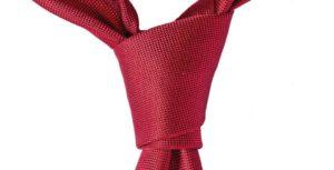 nudo de corbata doble