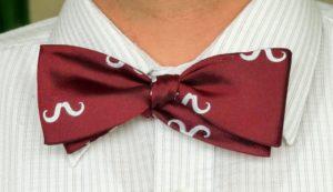 nudo mariposa corbata
