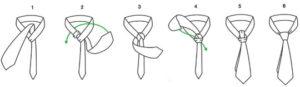 como hacer un nudo windsor